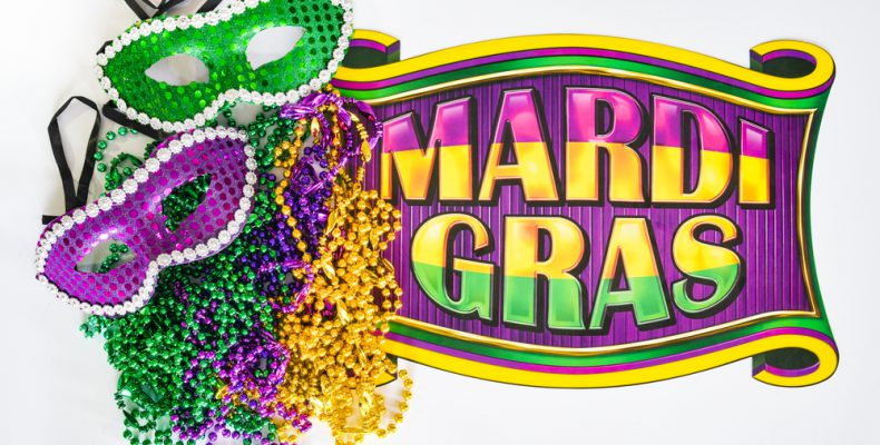 Happy Mardi Gras from Pumpkins Freebies