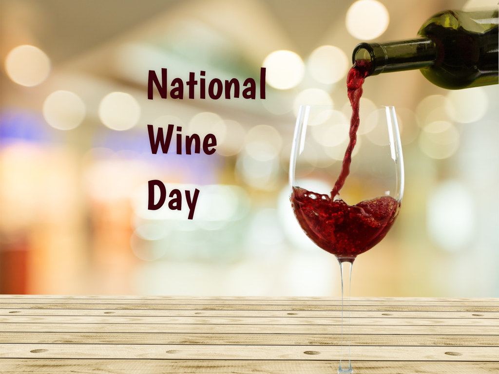 Image result for National Wine Day 2019