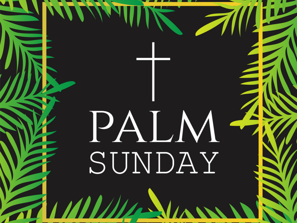 palm sunday in 2018 2019 when where why how is